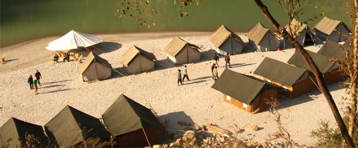Alaknanda River Adventure Camps Rishikesh