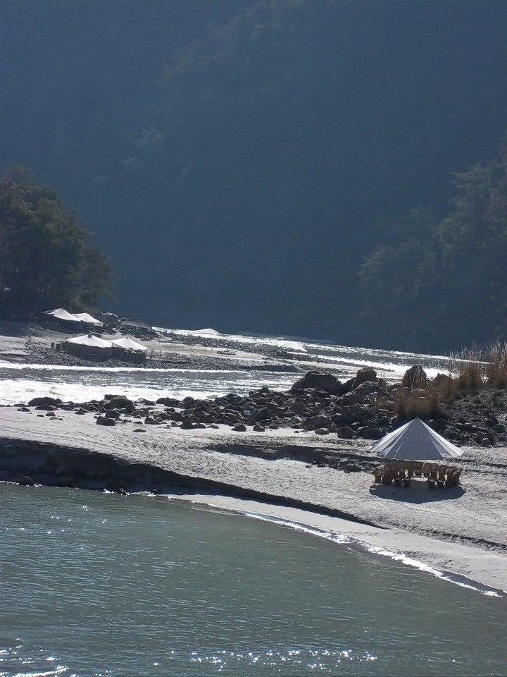 Beach Camps in Rishikesh