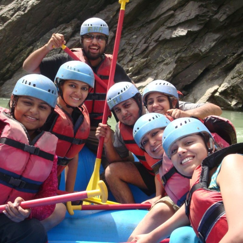 River Rafting Day Tour Packages