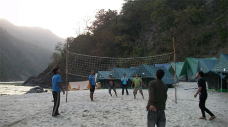 J2 adventures Beach Camps Rishikesh