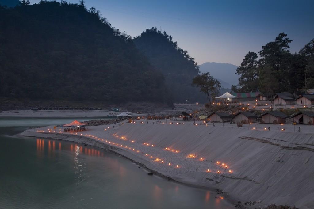 Mercury Himalayan Explorations MHE Beach Camps Rishikesh