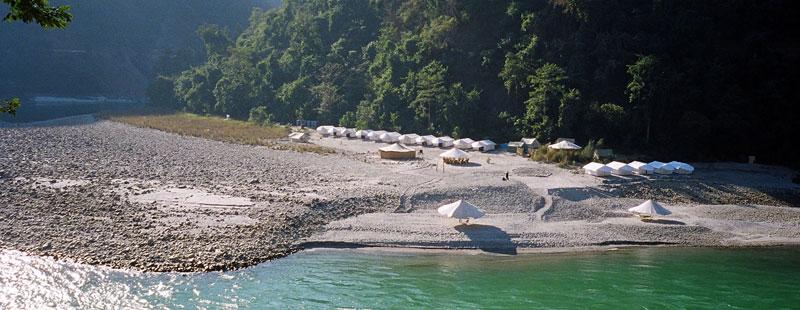 Rimo Rafting Camps Rishikesh
